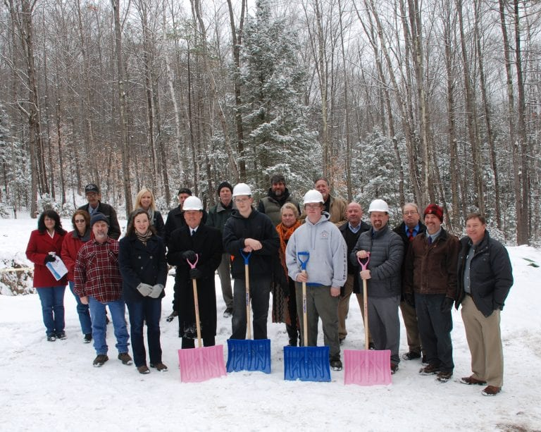 Community Home Replacement Program Groundbreaking